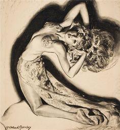 McClelland Barclay, American illustrator (1891 - 1942)