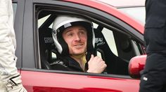 Behind the scenes of the filming of Top Gear with Michael Fassbender & The Stig