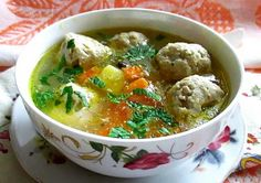 Thai Red Curry, Soup, Yummy Food, Chicken, Meat, Ethnic Recipes, Delicious Food, Soups, Cubs