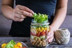 A saláta is lehet izgalmas és finom, igazi könnyű, nyári fogás.