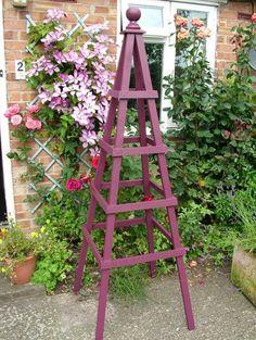 diy garden obelisk - Bing images