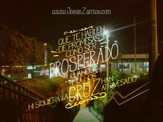 Para controlar a la gente le hablan de prosperidad.