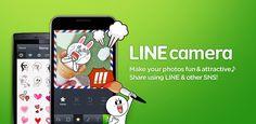 LINE camera para editar fotos e imagenes