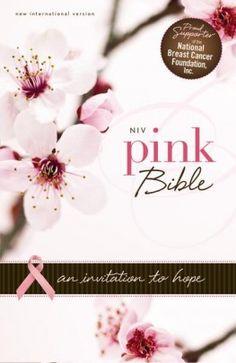 NIV Pink Bible  An Invitation to Hope