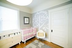 Shabby chic style nursery for adorable baby girl.  Tags: shabby chic, nursery, baby girl room ideas #shabbychic #nursery #babyroom #baby #adorable