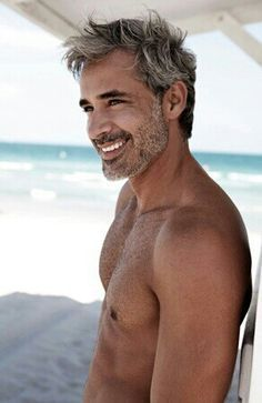 images of sexy gray-haired men - Google Search