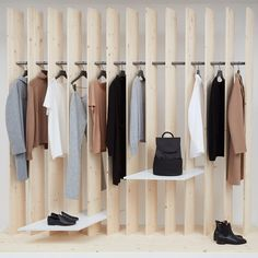 "COS ESSENTIALS, ""Foundation pieces for the modern wardrobe"", pinned by Ton van der Veer"