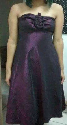 Lolita Retrô: Vestido de festa de Tafetá