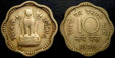 Surely you can remember the time where we used to carry a paisa to the local shopkeeper and buy different items with just a single coin. Well, things now have changed drastically from what it was then, but we still cannot forget those good old days. The first paisa was introduced on April 1, 1957, after decimalization … Rare Coin Values, Sell Old Coins, Coin Prices, Gernal Knowledge, Coins For Sale, Old Money, Antique Coins, Islamic Dua, Indian Fabric