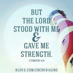 Strength from God