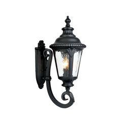 "Acclaim Lighting 7211 Surrey 3 Light 24.5"" Height Outdoor Wall Sconce"