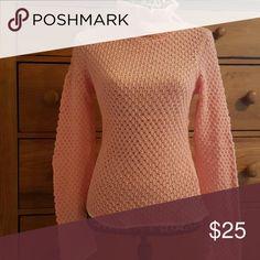 Calvin Klein Sweater Calvin Klein Pink with white trim sweater Calvin Klein Jeans Sweaters Cowl & Turtlenecks