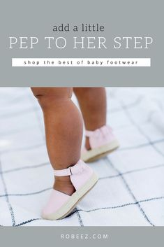 Shop Baby's First Shoes from Robeez for healthy foot development. We offer a wide range of crawling shoes, designed with healthy infant & toddler feet in mind Baby Girl Shoes, Girls Shoes, Toddler Fashion, Kids Fashion, Lady Spencer, Baby Girl Hairstyles, Babies First Year, Comfy Shoes, Baby Feet
