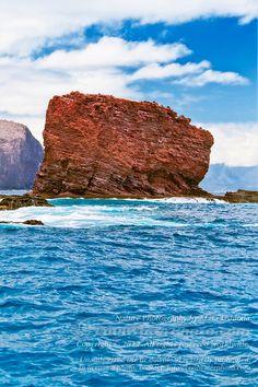Sweetheart Rock, Lanai, Hawaii. Absolutely Beautiful in person!