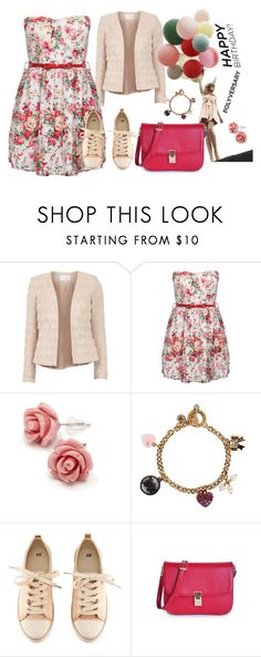 """""""Celebrate Our 10th Polyversary!"""" by autumn-soul ❤ liked on Polyvore featuring VILA, Christian Dior, Juicy Couture, H&M, polyversary and contestentry"""