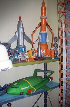 thunderbird 3 gerry anderson - Google Search
