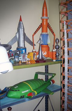 thunderbird 3 gerry anderson - Google Search