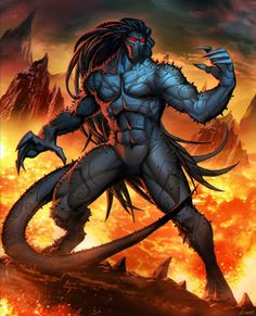 Blackheart | Gonzalo Aria - Son of the Mefisto. (Marvel-universe Hell.)