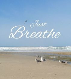 Just Breathe it's Monday! #workflow #relax