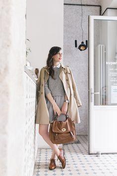 A Clothes Horse: Style Crush: Daphne Mode Bcbg, Parisian Chic, Clothes Horse, Mode Inspiration, Preppy Style, Mode Style, Autumn Winter Fashion, Fashion Fall, Fall Winter