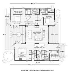 Blu Homes Prefab Breezehouse 3 Bed w/ Large Master