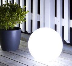 GP MoodLite Globe LED-ball 250mm, oppladbart-batteri