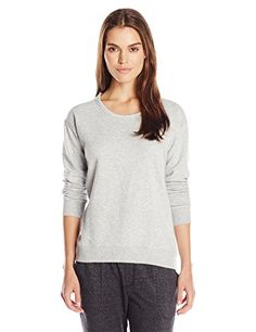 Alternative Women's Remodeled Crew Neck In Heather Grey, Medium- #fashion #Apparel find more at lowpricebooks.co - #fashion