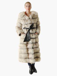 Vintage Convertible Fox Fur Coat by MaevenOnEtsy on Etsy, $850.00