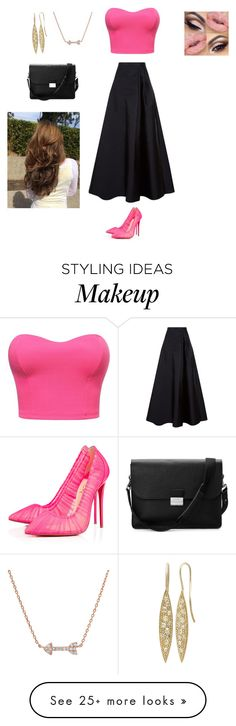 """People scare me"" by ceceandjessie on Polyvore featuring MaxMara, Christian Louboutin and Aspinal of London"