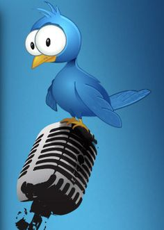 How do You Use Twitter - funny Twitter bird :)