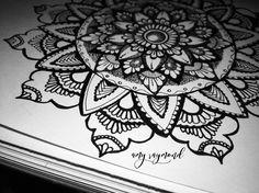 #mandala 1/12/17 by Amy Raymond #doodle #sketched #micron #sharpie #inkart #tattoo #artismytherapist