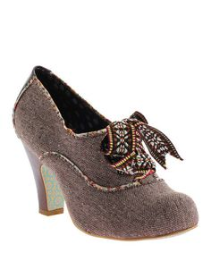 Look what I found on #zulily! Brown Summer Berry Pump by Irregular Choice #zulilyfinds