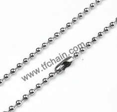 2.0mm stainless steel ball chain necklace #ballchain #beadchain #militarydogtagballchain #militaryballchain #stainlessteelballchain #ballchainnecklace #ballchainspool #beadchainspool  #tfchain #2.4mmballchain #2.0mmballchain Dog Tags Military, Military Ball, Ball Chain, Different Colors, Stainless Steel, Metal, Accessories, Metals, Jewelry Accessories