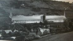 CARLYON FARM DRY (or KILN) (1930s) | Trenance, Cornwall: 'One dry, one furnace and two square stacks ... the only one in Europe ... Heat and smoke drawn through hypercaust floors from central furnace to both stacks. At Trethowel, above Bodmin Road, and accessible from the Clay Trail foot/cyclepath.'     ✫ღ⊰n