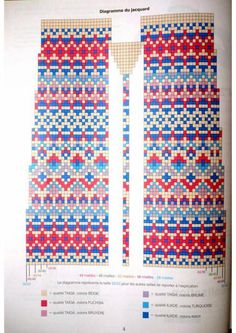 Fair Isle Knitting Patterns, Knitting Charts, Loom Patterns, Lace Knitting, Knitting Stitches, Knitting Socks, Cross Stitch Patterns, Fair Isle Chart, Norwegian Knitting