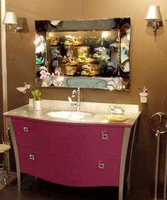 bathroom-vanity-sink-retro-art-deco-pink-cabinets