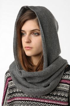 really need to buy a hooded scarf