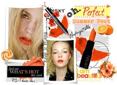 """""""Orange Summer"""" by thepeachblossom on Polyvore"""