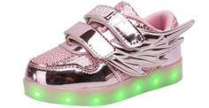 KolHit Kids Winged LED Color Changing Metallic Light-Up Shoes(Toddler/Little Kid/Big Kid), http://www.amazon.com/dp/B01LXZRFBL/ref=cm_sw_r_pi_awdm_x_xzwcyb78FF337
