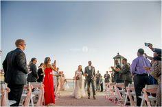 Destiny wedding  |  Outdoor wedding ceremony  |  Lace wedding gown  |  Grey tuxedo  |  Wedding day  |  Aislinn Kate Photography