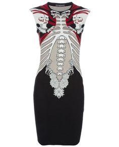 ALEXANDER MCQUEEN Intarsia knit dress $ 1175.00 Damn!