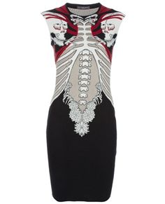 ALEXANDER MCQUEEN Intarsia knit dress $ 1175.00