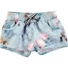 c0188a55c91a6 Molo Nalika Fishpond Print Girls Quick Dry Board Short from MOLO - Denmark  at Pumpkinheads