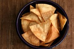 Salty, crunchy corn chips for dunking in salsa or topping with cheese for homemade nachos.
