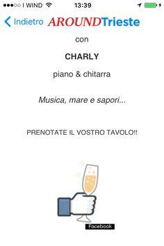 #EVENTIATRIESTE All' Elefante Bianco Trieste MUSICA&FOOD sabata 27 febbraio....Musica, mare e sapori... www.elefantebianco-trieste.com