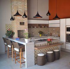 Interior Living Room Design Trends for 2019 - Interior Design Small Open Kitchens, Outdoor Kitchen Design, Kitchen Remodel, Kitchen Decor, Home Decor, House Interior, Home Kitchens, House Interior Decor, Kitchen Design