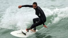 Surfer turned pro after leg ripped off by shark