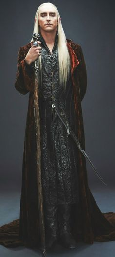 Lee Pace  The Hobbit as Thranduil. Such.. magnificent look.