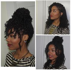 Twist Kinks styled! ❤️ #fallhair #fallfashion