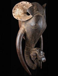 Africa art Ivory Coast Elephant Mask